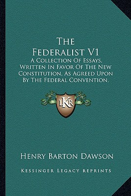 the federalists was a collection of essays